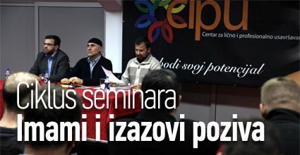 """Ciklus seminara """"Imami i izazovi poziva"""""""