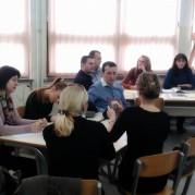 """CLPU organizirao seminar""""Uspješno pisanje projekata i komunikacija s donatorima"""" za menadžment i nastavnike JUOŠ """"Mihatovići"""" u Tuzli"""