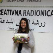 Kreativna radionica – dekupaž u Cazinu